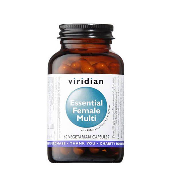 Viridian esencialni multivitamini za ženske