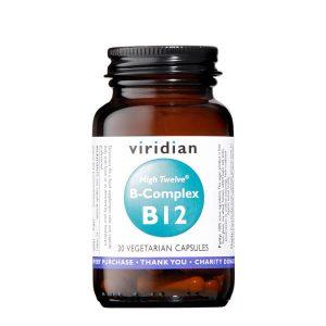 Viridian B kompleks z višjo vsebnostjo B12