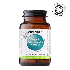 Viridian ekološka ašvaganda v kapsulah