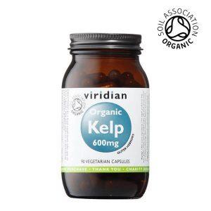 Viridian ekološki kelp v kapsulah