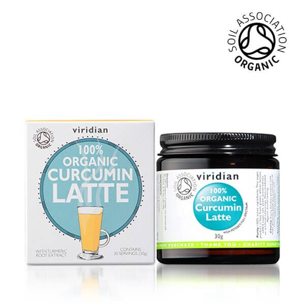 Viridian ekološki napitek kurkuma latte